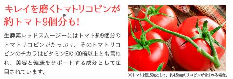 生酵素レッドスムージー トマト9個分