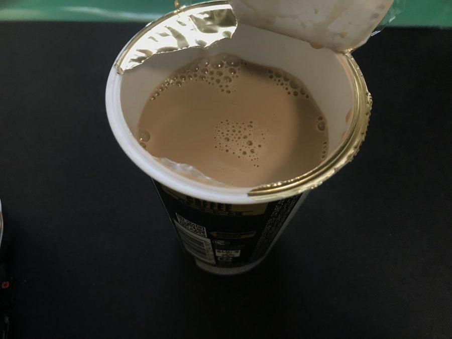 ファミマのバターコーヒーの色